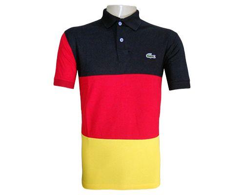 dec669a1d348a Camisa Polo Lacoste Alemanha MOD  72049 - LC Variedades - Show de ...