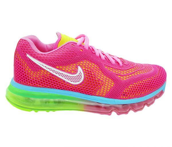 50f37f5973e Tênis Nike Air Max 2014 Feminino Rosa MOD  11736 - LC Variedades ...
