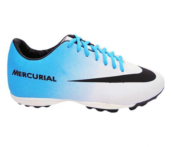Chuteira Society Nike Mercurial Branco eedb78fb1ec78