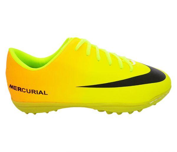 c9d72630d1aa8 Chuteira Society Nike Mercurial Verde Limão